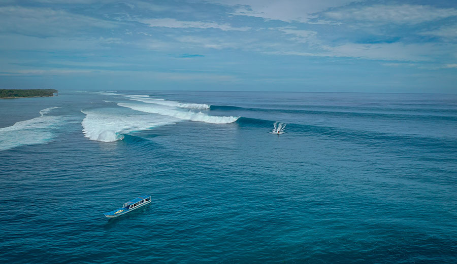 Surfing in the Mentawais