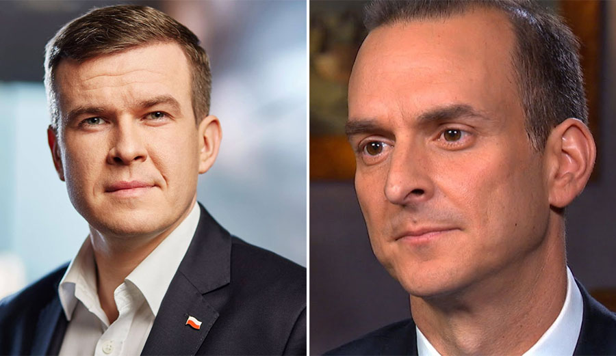 Witold Bańka and Travis Tygart
