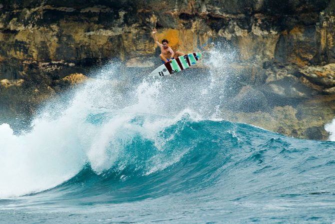 A Brief History of Surfing's Modern Aerial