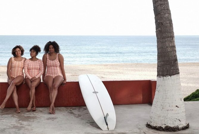 The Ladies of Textured Waves Talk About the African American Surf Experience