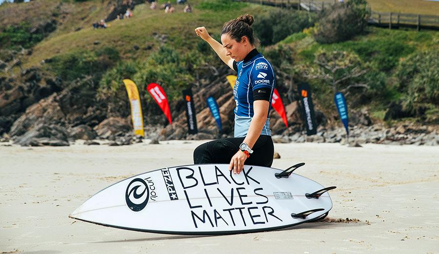Tyler Wright Black Lives Matter