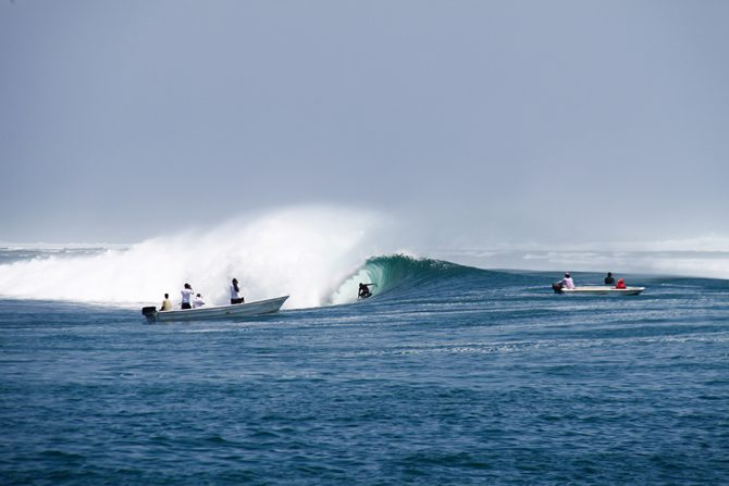 The History of Java's G-Land Surf Camp