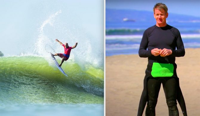 The WSL's 'Ultimate Surfer' Reality Show Would Be Infinitely Better With Gordon Ramsay