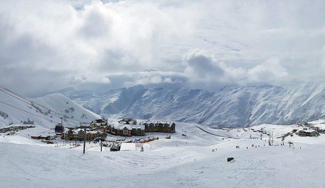 alps ski resort in Georgia