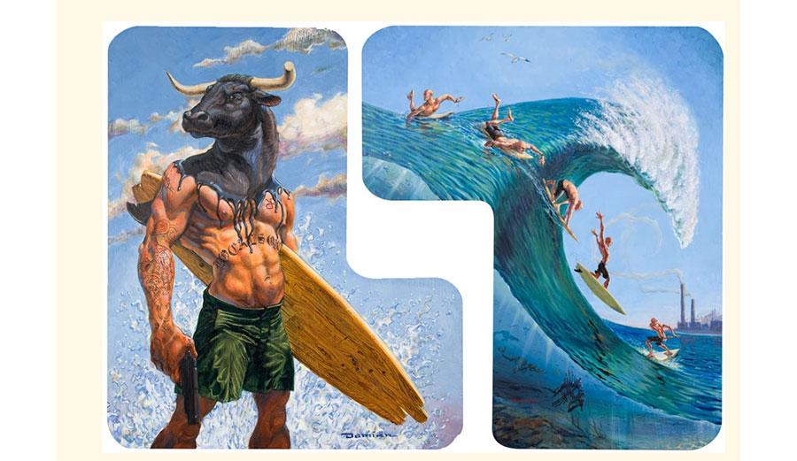 Damian Fulton artwork