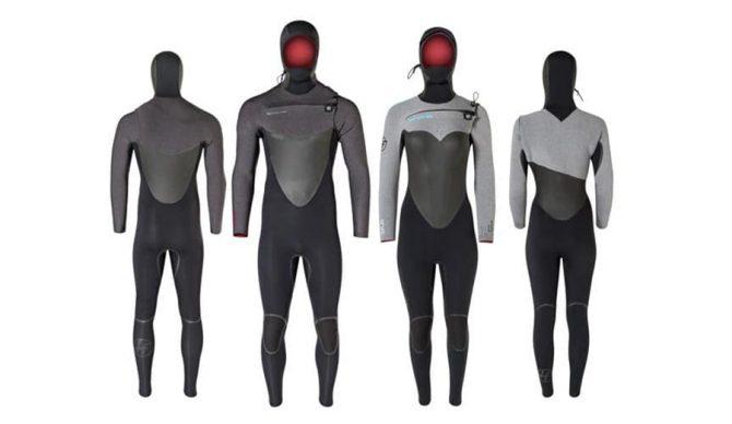 Men's and women's hyperflex vryl cryo full suits 5/4