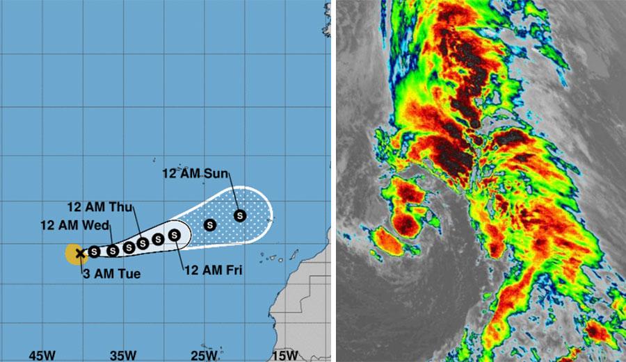 Tropical Storm Theta