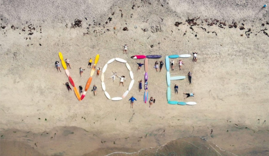 Surfers vote