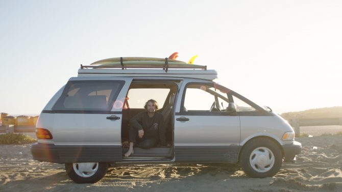 Jay Nelson Builds a Pop Top Camper on a 1994 Toyota Previa