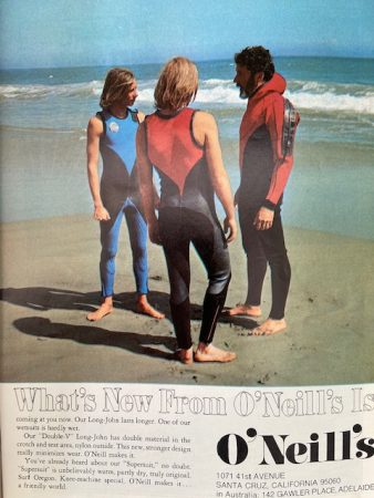 Jack O'Neill and the first wetsuits