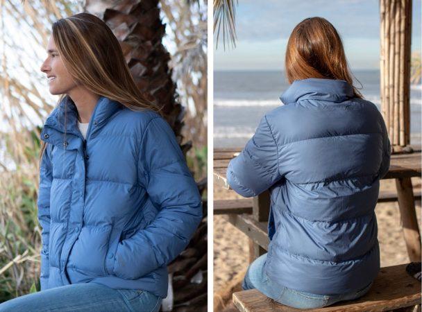 patagonia puffer silent down jacket