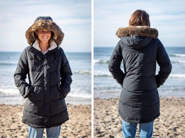 roxy ellie puffer jacket long