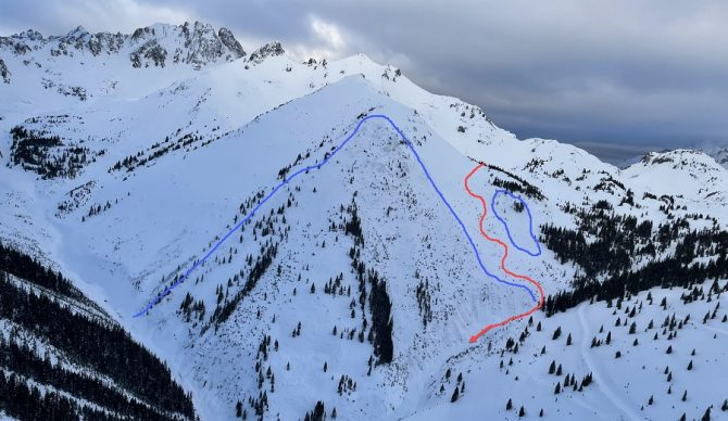 4 skiers buried in colorado avalanche 2/1