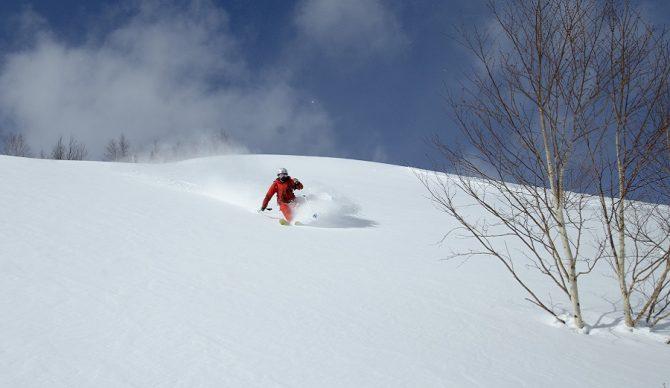 hachimantai ski resort powder
