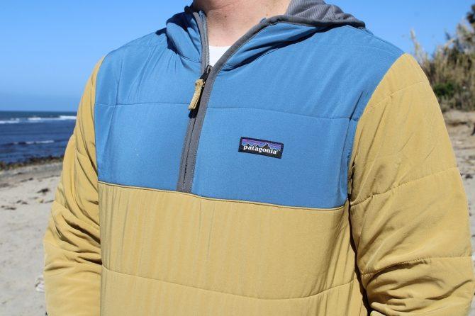 patagonia mens pack in pull over hoodie