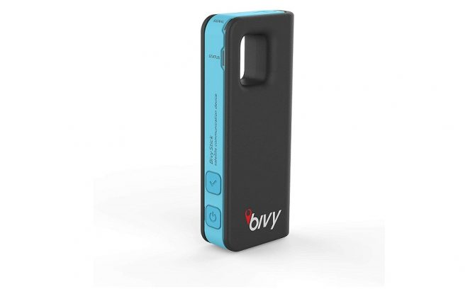 the Bivy Stick Blue Satellite Communicator
