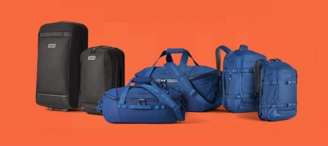 the yeti crossroads line of backpacks duffels and luggage