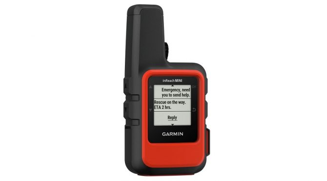 the Garmin InReach Mini Satellite Communicator