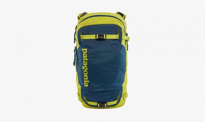 patagonia snowdrifter ski and snowboard backpack 30L