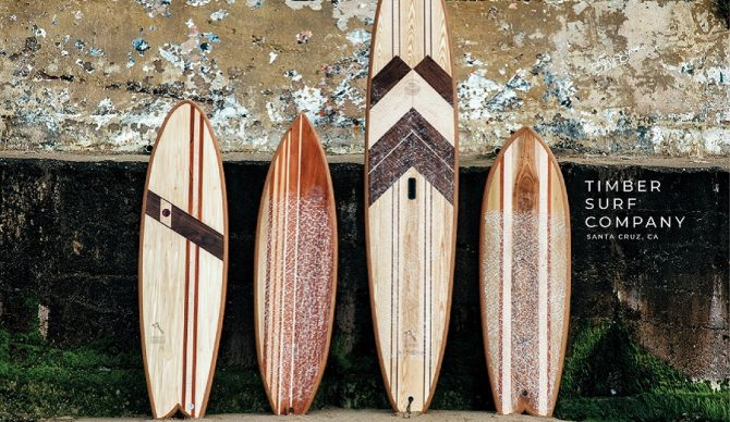 ryan lynch of timber surf co is making wooden, environmentally friendly surfboards