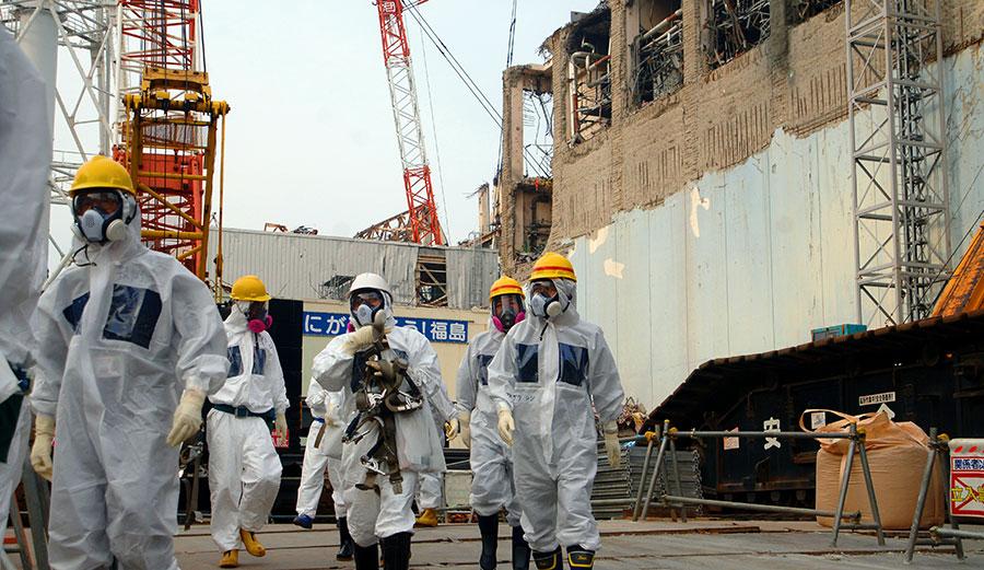 IAEA experts depart Unit 4 of TEPCO's Fukushima Daiichi Nuclear Power Station