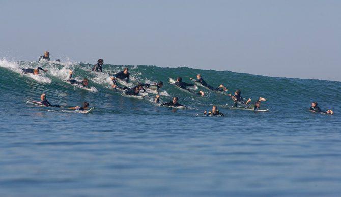 Lowers paddle battle