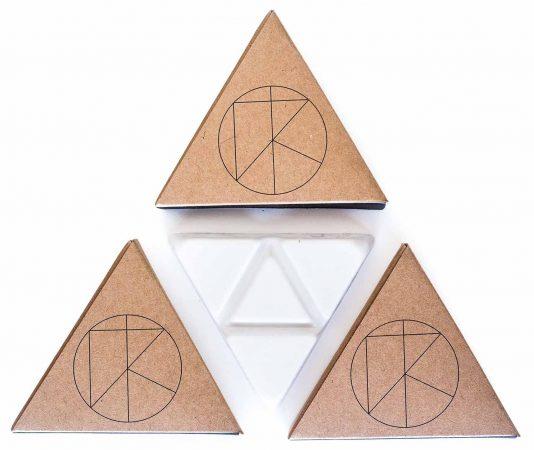 kassia surf triangle palo santo infused surf wax