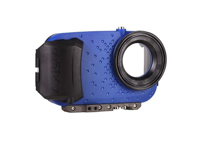 axisgo water housing for iphone cameras for surf photography