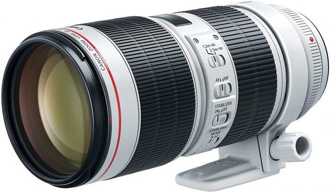 canon 70-200mm zoom lens