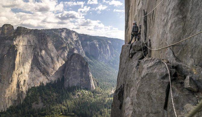 yosemite big wall climbing on el capitan
