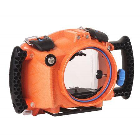 AquaTech EDGE waterproof camera housing for mirrorless cameras