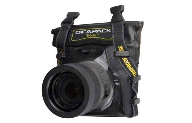 DiCAPac waterproof camera housing