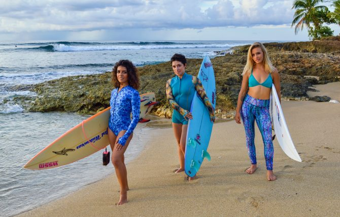 slipins surfskins mini womens swimsuit for surfing