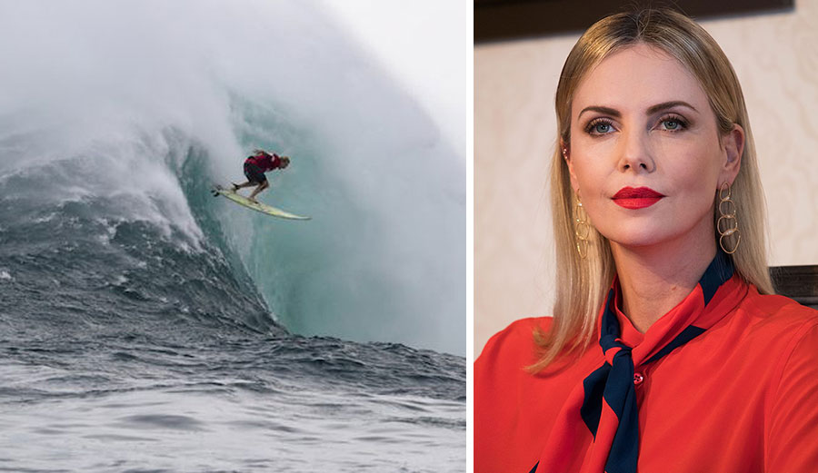 Charlize Theron directing big wave surfing film