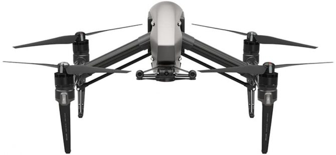 DJI Inspire 2 Pro Drone for surf photography