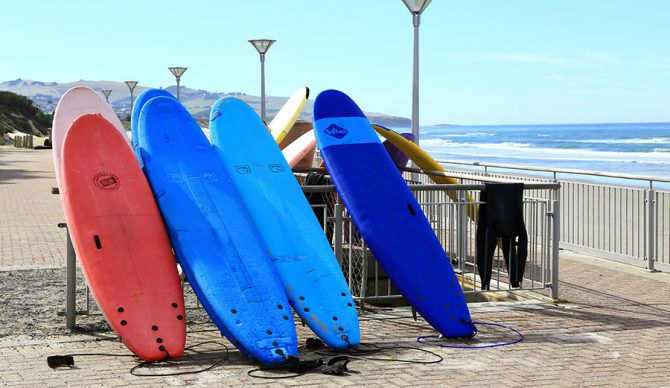 Class Is In Session: Examining the Evolution of Surf Schools