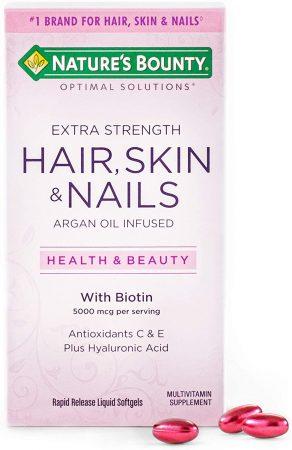 hair nail skin vitamins