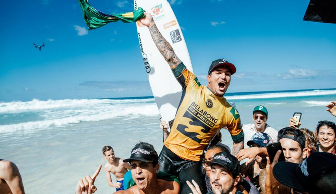 Gabriel Medina Says He's Pulling Out of WSL's Teahupoʻo Event Because He Isn't Vaccinated